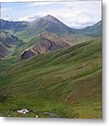 Yurts In The Tash Rabat Valley Of Kyrgyzstan  Metal Print by Robert Preston