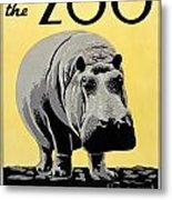 Zoo Poster C1936 Metal Print