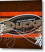 Anaheim Ducks Metal Print