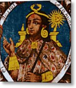 Atahualpa, Last Emperor Of The Incan Metal Print