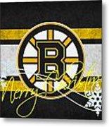 Boston Bruins Metal Print