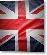 British Flag 17 Metal Print