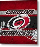 Carolina Hurricanes Metal Print