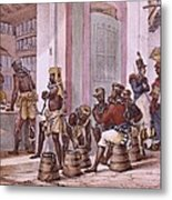 Debret, Jean Baptiste 1768-1848. A Metal Print