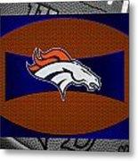 Denver Broncos Metal Print