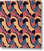 Design From Nouvelles Compositions Decoratives Metal Print