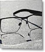 Eyeglasses Metal Print