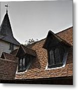Greensted Church Metal Print