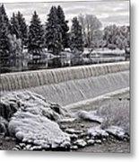 Idaho Falls Metal Print