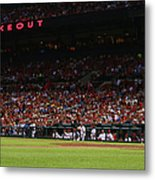 Kansas City Royals V St. Louis Cardinals Metal Print