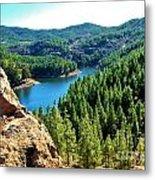 Landscape Amazing Colors Mountains Metal Print