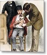 Louis Pasteur (1822-1895) Metal Print