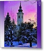 Christmas Card 23 Metal Print