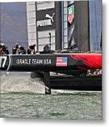 Oracle America's Cup Metal Print