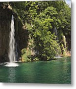 Plitvice Lakes National Park Croatia Metal Print