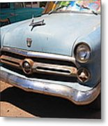 Route 66 Classic Car Metal Print