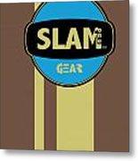 Slam One Gear Metal Print