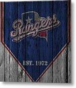 Texas Rangers Metal Print