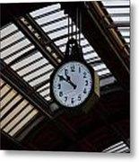 10 To 11.  Milan Railwaystation Metal Print