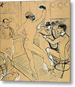 Toulouse-lautrec, Henri De 1864-1901 Metal Print by Everett
