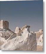 White Desert Metal Print