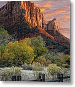 Zion National Park Metal Print