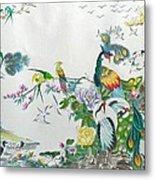 100 Birds Metal Print