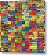 100 Flags Metal Print