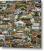 100 Painting Collage Metal Print