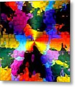 1000 Abstract Thought Metal Print