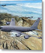 100th Arw Flagship Metal Print