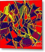 1010 Abstract Thought Metal Print