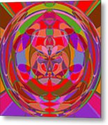 1015 Abstract Thought Metal Print