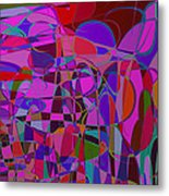 1017 Abstract Thought Metal Print