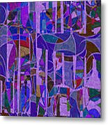 1022 Abstract Thought Metal Print