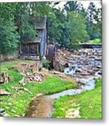 Sixes Mill - Dukes Creek - Square Metal Print