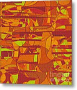 1045 Abstract Thought Metal Print