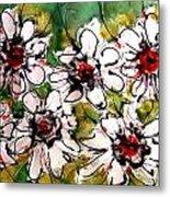 Heavenly Flowers Metal Print