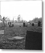 10602-16bw  Memorial Day 1991 Metal Print