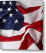 American Flag 34 Metal Print