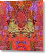 1074 Abstract Thought Metal Print