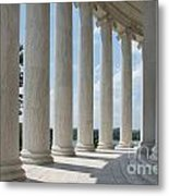 Thomas Jefferson Memorial Metal Print