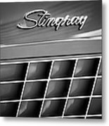 1972 Chevrolet Corvette Stingray Emblem Metal Print