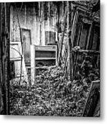 Abandoned Sanatorium Metal Print