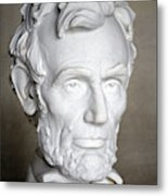 Abraham Lincoln (1809-1865) Metal Print by Granger