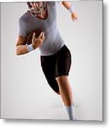 American Football Player Metal Print