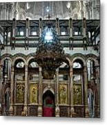 Church Of The Holy Sepulchre In Jerusalem Metal Print
