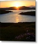 Dingle Sunset Metal Print