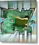 #11 Elusivenudescape 2003 Metal Print