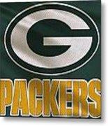 Green Bay Packers Uniform Metal Print